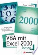 VBA mit Excel 2000 lernen