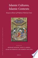 Islamic Cultures, Islamic Contexts