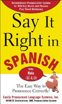 Say It Right In Spanish