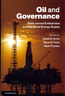 Oil and Governance Book Cover