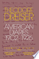 The American Diaries  1902 1926