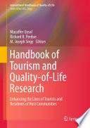 Handbook of Tourism and Quality of Life Research