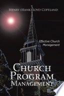 Church Program Management