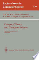 Category Theory And Computer Science book