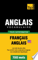 Vocabulaire Fran  ais Anglais am  ricain pour l autoformation   7000 mots