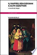 Il vampiro, Don Giovanni e altri seduttori Book Cover