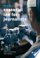 McNae s Essential Law for Journalists