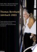 Thomas Bernhard Jahrbuch 2003