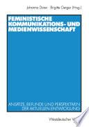 Feministische Kommunikations- und Medienwissenschaft