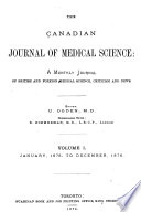 The Canadian Journal of Medical Science
