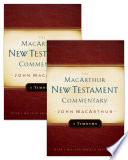1   2 Timothy MacArthur New Testament Commentary Set