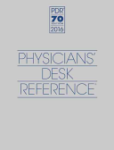 2016 Physicians  Desk Reference  70th Edition