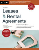 Leases   Rental Agreements