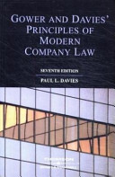 Gower and Davies  Principles of Modern Company Law
