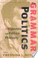 The Grammar of Politics