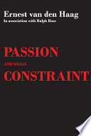 Ebook Passion and Social Constraint Epub Ralph Ross Apps Read Mobile