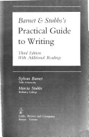 Barnet & Stubb's Practical Guide to Writing