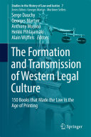 The Formation and Transmission of Western Legal Culture Book