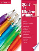 Skills for Effective Writing Level 1 Student s Book