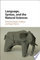 Language  Syntax  and the Natural Sciences