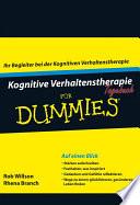 Kognitive Verhaltenstherapie Tagebuch f  r Dummies