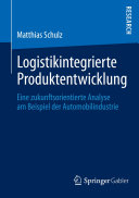 Logistikintegrierte Produktentwicklung