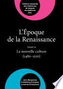 L   poque de la Renaissance  1400   1600