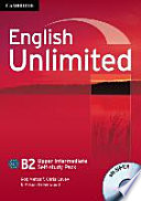 English Unlimited B2   Upper Intermediate  Self study Pack with DVD ROM
