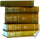 Recueil Des Cours, Collected Courses 1962