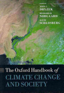 The Oxford Handbook Of Climate Change And Society : of fields working on issues of how climate...