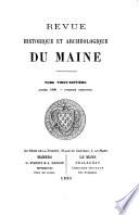 Revue Historique et Archeologique du Maine