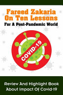 Book Fareed Zakaria On Ten Lessons For A Post Pandemic World