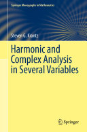 Harmonic and Complex Analysis in Several Variables