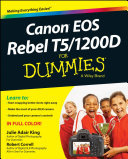Canon EOS Rebel T5 1200D For Dummies