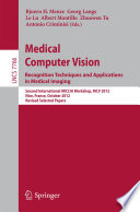 Medical Computer Vision Recognition Techniques And Applications In Medical Imaging