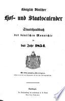 K  niglich d  nischer Hof  und Staatskalender