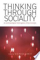 Thinking Through Sociality