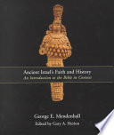 Ancient Israel s Faith and History
