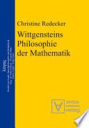 Wittgensteins Philosophie der Mathematik
