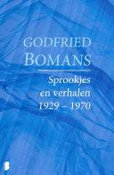 Sprookjes en verhalen 1929 – 1970