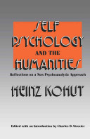 Self Psychology and the Humanities