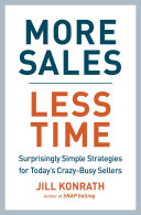 More Sales  Less Time You Ll Never Get It All Done I Worked