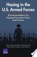 Hazing in the U S  Armed Forces