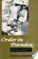 Order In Paradox Myth  Ritual And Exchange Among Nepal S Tamang