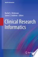 Clinical Research Informatics Overview Of Clinical Research Types Activities And