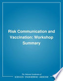 Risk Communication and Vaccination