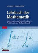 Lehrbuch der Mathematik  Band 4