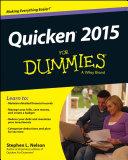 Quicken 2015 For Dummies