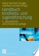 Handbuch Kindheits  und Jugendforschung