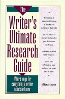 The Writer s Ultimate Research Guide